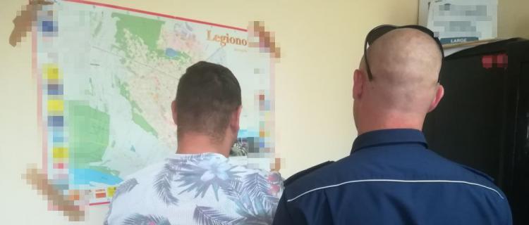 Legionowo. 33-latek ukrywał się przed wymiarem sprawiedliwości, jest już w rękach policji