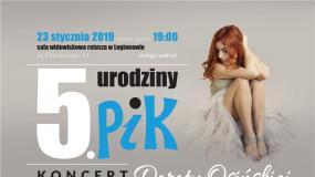 5 urodziny Powiatowej Instytucji Kultury w Legionowie - Koncert Doroty Osińskiej