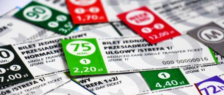 Nowy wzór biletów ZTM w Warszawie