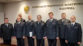 Karol Mendak oficjalnie zastępcą Komendanta Powiatowego Państwowej Straży Pożarnej w Legionowie