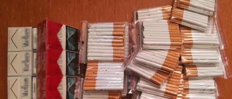 Ponad 1000 sztuk papierosów spod lady w Legionowie
