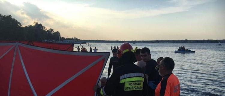 Dwa utonięcia w ciągu kilku dni nad Jeziorem Zegrzyńskim