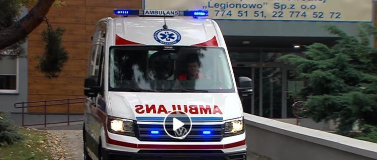 Legionowskie pogotowie ma nowy ambulans
