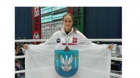 Legionowianka zdobyła srebrny medal Pucharu Świata na Węgrzech w Kickboxingu