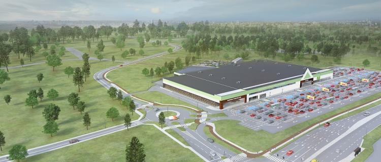 Budowa Leroy Merlin w Jabłonnie trwa. Otwarcie wiosną 2019!
